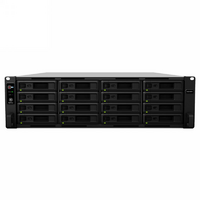 Synology RS2818RP+ 16 Bay Rackmount NAS - Quad Core 2.1GHz  4GB