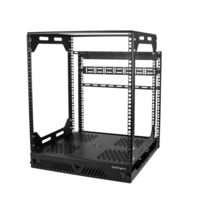 12U Slide-Out Server Rack - Rotating - 4-Post Rack - StarTech.com 12U Slide Out Server Rack - Rotating - 4 Post Rack - Open Frame - AV Rack - Equipmen