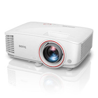 BenQ TH671ST DLP Projector - TH671ST maximizes thrills in minimal space  requiring as little as 5 FEET to project stunning 100 INCH picture. A larger-
