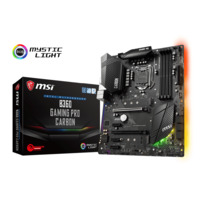 MSI B360 Gaming Pro Carbon ATX Motherboard