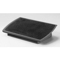 3M FR530CB Adjustable Foot Rest -  Charcoal Grey and Black