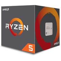AMD Ryzen 5 2600X AM4 Processor - 3.6GHz-4.2GHz 6-Core 95W TDP