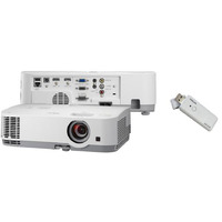 NEC ME301XG LCD Projector bundled with NP05LM4 Wireless Dongle - The ME301X is the perfect choice when considering replacing M Series XGA LCD projecto