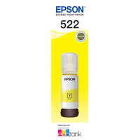 EPSON 522 YELLOW INK BOTTLE FOR ECOTANK ET-2710