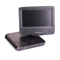 Portable DVD Player 7' with Bonus Pack (headrest mounts and earphones)