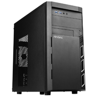 Antec VSK3000 Elite Mini Tower - mATX - Black