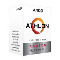AMD Athlon 200GE AM4 Processor - 3.2GHz 2-Core 35W TDP
