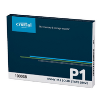 Crucial P1 1TB 2280 M.2 SSD - Up to 2000/1700 MB/s