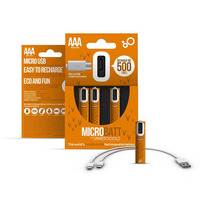 Smartoools AAA USB Rechargeable Batteries