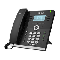 Htek UC903 Classic  Business IP Phone  6 Line Display  10/100m Ethernet  2 Year Warranty  (Yealink T41S equivalent)