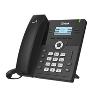Htek UC912E Standard Business IP Phone  Wifi / Bluetooth  4 Line Display  Gigabit Ethernet   PSU included  2 Year Warranty  (Yealink T42S equivalent)