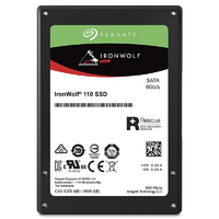 Seagate IronWolf 110 480GB 2.5' SATA3 SSD - Up to 560/535 MB/s