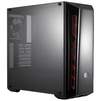 Cooler Master MB520 Mid Tower - ATX - Red w/Tempered Glass