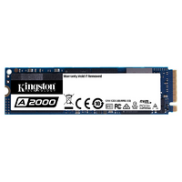 Kingston A2000 250GB 2280 M.2 SSD - Up to 2000/1100 MB/s