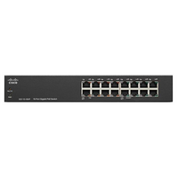 Cisco SG110 16 Port Rackmount Switch - 1Gbps  Unmanaged