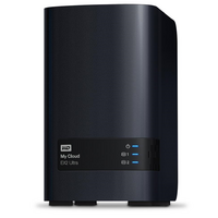 WD My Cloud EX2 4TB 2 Bay NAS - Dual Core 1.3GHz  1GB