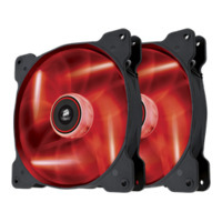 Corsair SP140 140mm Fan - Red LED - Twin Pack