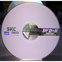 SKC 4.7GB 4X DVD+RW Media 10pk SKC Packaged 4.7Gb 4X DVD+RW