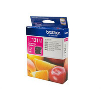 BROTHER LC-131M INK CARTRIDGE MAGENTA