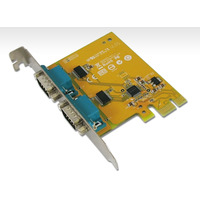 PCIE 2 Port Serial Card Full Height Expansion RS-232