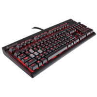 Corsair STRAFE Mechanical Keyboard - Red Backlit  Cherry MX Brown Switches