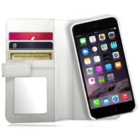 X-WALLET LEATHER CASE with Sim