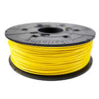 Da Vinci PLA 0.6Kg Filament - Clear Yellow