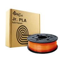 Da Vinci PLA 0.6Kg Filament - Clear Tangerine - For Da Vinci Junior