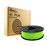 Da Vinci PLA 0.6KG Filament - Neon Green - For Da Vinci Junior