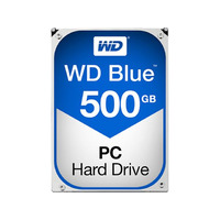 Western Digital Blue 500GB 3.5' SATA3 HDD - 7200RPM
