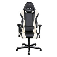 DXRacer RZ00 Racing Gaming Chair - Black/White