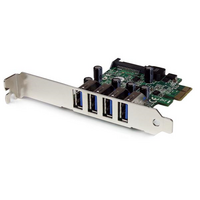 Startech PCIe Adapter - 4x USB 3.0