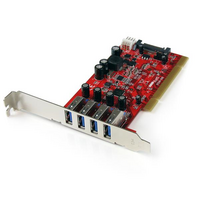 Startech PCI Adapter - 4x USB 3..0