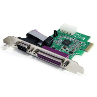 Startech PCIe Adapter - 1x Parallel  1x Serial