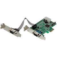 Startech PCIe Adapter - 2x Serial