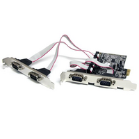 Startech PCIe Adapter - 4x Serial