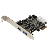 Startech PCIe Adapter - 2x USB 3.0