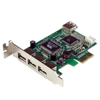 Startech PCIe Adapter - 4x USB 2.0