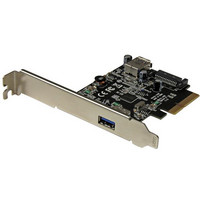 Startech PCIe Adapter - 1x USB 3.1  1x Internal USB 3.1