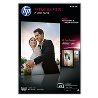 Premium Plus Glossy Photo Paper-25 sht/10 x 15 cm