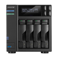 Asustor AS7004T 4 Bay NAS - Dual Core 3.5GHz  2GB