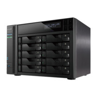 Asustor AS7010T 10 Bay NAS - Dual Core 3.5GHz  2GB