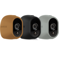 Netgear Arlo Silicon Skin 3Pk - Grey/Brown/Black