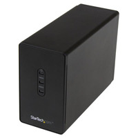 Startech 2 Bay 2.5' SATA HDD Enclosure - USB 3.0  Supports RAID