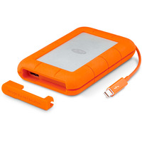 LaCie Rugged Thunderbolt 1TB Portable HDD - USB 3.0  Thunderbolt 2
