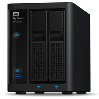 WD My Cloud Pro PR2100 8TB 2 Bay NAS - Quad Core 1.6GHz  4GB