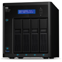 WD My Cloud Pro PR4100 8TB 4 Bay NAS - Quad Core 1.6GHz  4GB