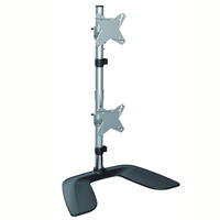 Brateck LDT02-T02V Desk Monitor Mount - 2x Screens  Up to 24'  VESA