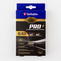 Verbatim 32GB Memory Card - SDHC  Class 10 UHS-I  With Adapter