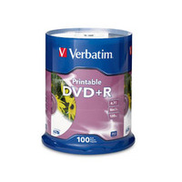 Verbatim DVD+R 4.7GB 100pk - Printable